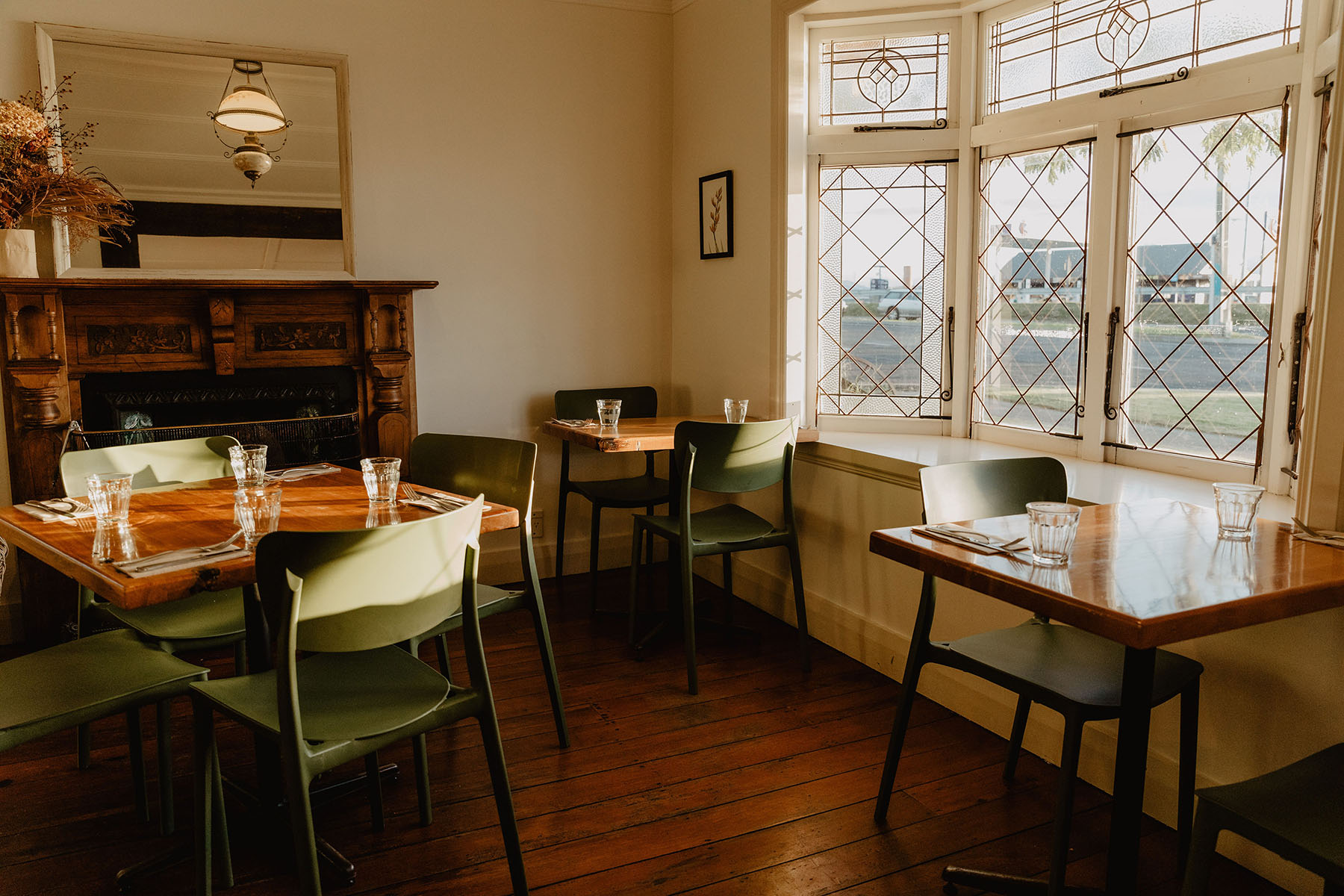 The Trading Post dining room